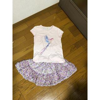ザラ(ZARA)の140 スカートとZARA Tシャツ(スカート)