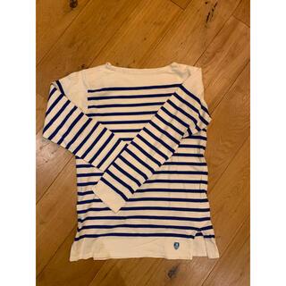 ユナイテッドアローズ(UNITED ARROWS)の未使用!ORCIVAL オーチバル ボーダーロンT(Tシャツ/カットソー(七分/長袖))