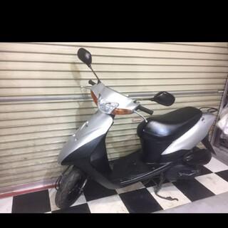 スズキ - 埼玉県深谷市 スズキ レッツ2 原付 スクーター 50cc バイク シルバー