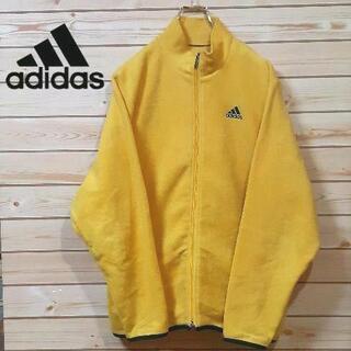 アディダス(adidas)の希少アディダスadidas 黄色 イエロー ボアフリースジャケット タグ欠品(ブルゾン)