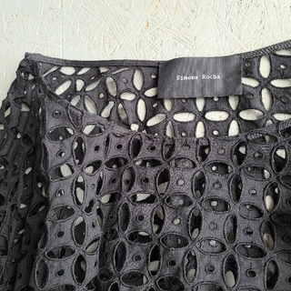 COMME des GARCONS - SIMONE ROCHA/シモーン・ロシャ(シモーネ・ロシャ)のスカート 黒