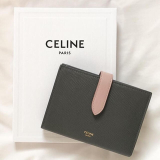 celine - CELINE セリーヌ ミディアムストラップウォレット 財布