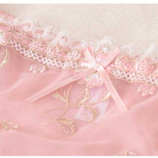 ブラショーツセット ナイトブラ 下着 盛りブラ 韓国 レディースの下着/アンダーウェア(ブラ&ショーツセット)の商品写真