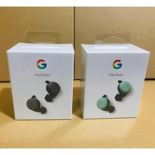 グーグル(Google)の◾️専用出品◾️Google Pixel Buds BlackとMint(ヘッドフォン/イヤフォン)