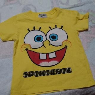 スポンジボブ Tシャツ 110サイズ(Tシャツ/カットソー)