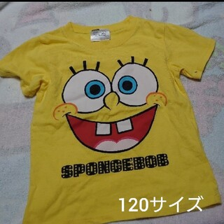 スポンジボブ Tシャツ 120サイズ(Tシャツ/カットソー)