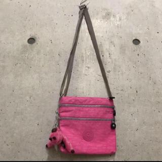 キプリング(kipling)の★キプリング★ミニ ショルダーバッグ バッグ ピンク ゴリラ ポシェット(ショルダーバッグ)