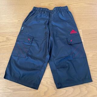 アディダス(adidas)の【美品】アディダス adidas シャカシャカ 7分丈 ズボン 130(パンツ/スパッツ)