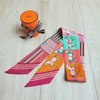 Hermes - エルメス ツイリー 馬 シルク スカーフ ブランケット 箱付き 美品