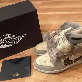Christian Dior - エアジョーダン1 ハイ オージー ディオールスニーカー