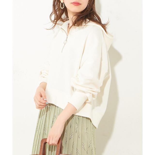 natural couture(ナチュラルクチュール)のナチュラルクチュール♡パーカー美品 レディースのトップス(パーカー)の商品写真