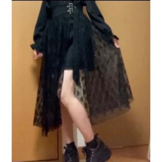 マーズ(MA*RS)の【MA*RS】サス付きレースラップスカート(ミニスカート)