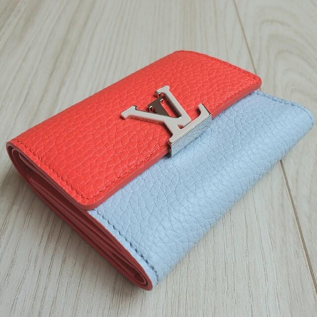 LOUIS VUITTON(ルイヴィトン)のルイヴィトン ポルトフォイユ・カプシーヌ XS 折り財布 ミニウォレット 新作 レディースのファッション小物(財布)の商品写真
