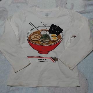 グラニフ(Design Tshirts Store graniph)のgraniph ラーメンくん 110サイズ ロンT グラニフ(Tシャツ/カットソー)