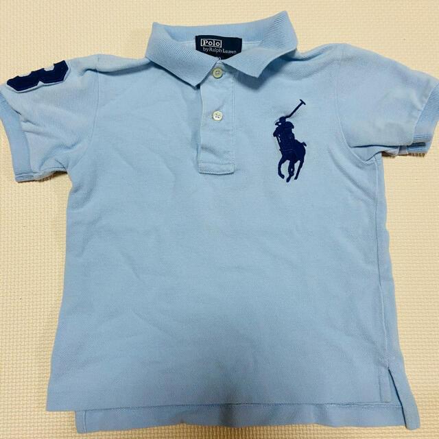 Ralph Lauren(ラルフローレン)のラルフローレン ポロシャツ キッズ/ベビー/マタニティのキッズ服男の子用(90cm~)(Tシャツ/カットソー)の商品写真