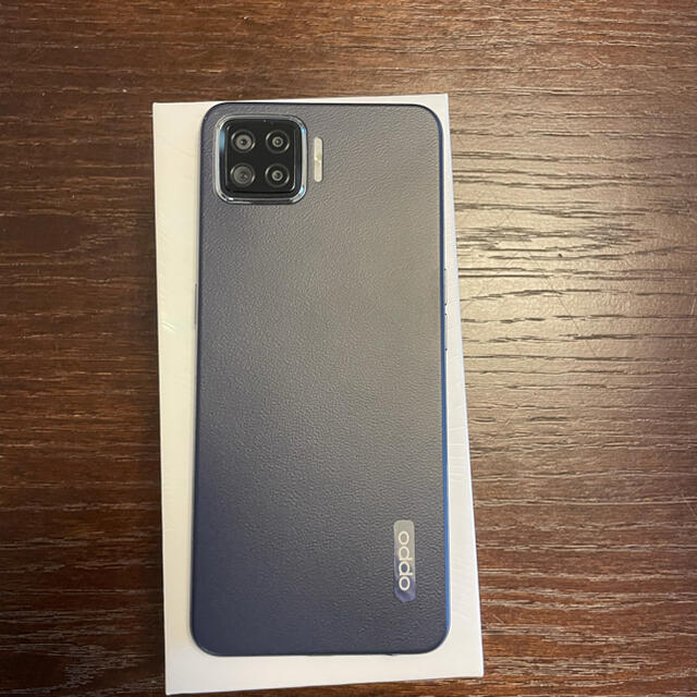 OPPO(オッポ)のOPPO A73 ネイビーブルー スマホ/家電/カメラのスマートフォン/携帯電話(スマートフォン本体)の商品写真