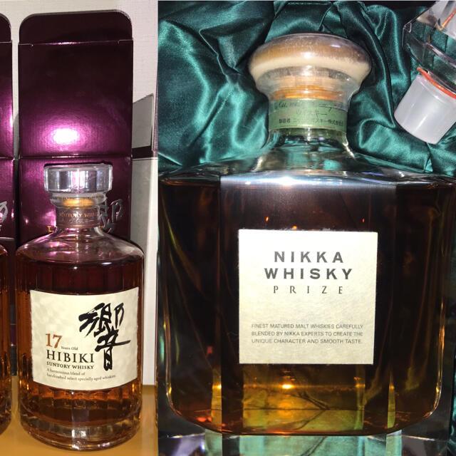 サントリー(サントリー)の響 17年 ニッカ プライズ Nikka Prize Hibiki 17 食品/飲料/酒の酒(ウイスキー)の商品写真