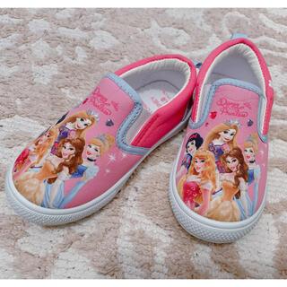 Disney - プリンセス スリッポン スニーカー