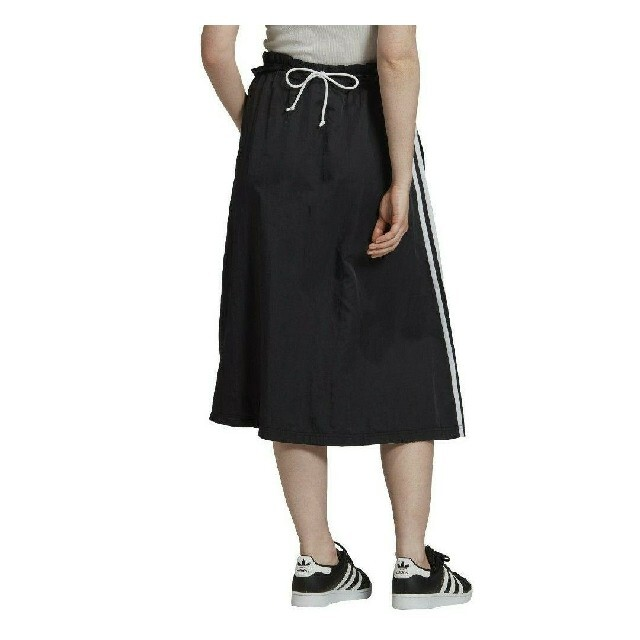 adidas(アディダス)の【刺繍ロゴ】adidas ロングスカート Sサイズ アディダス スカート レディースのスカート(ロングスカート)の商品写真