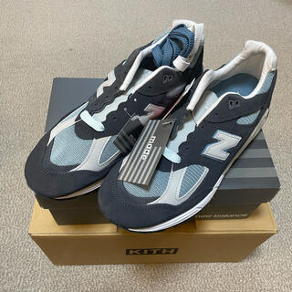 Supreme - RONNIE FIEG×NEW BALANCE M990KT STEELBLUE