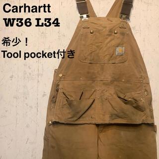 carhartt - Carhartt オーバーオール 一点物 90's  Tool pocket