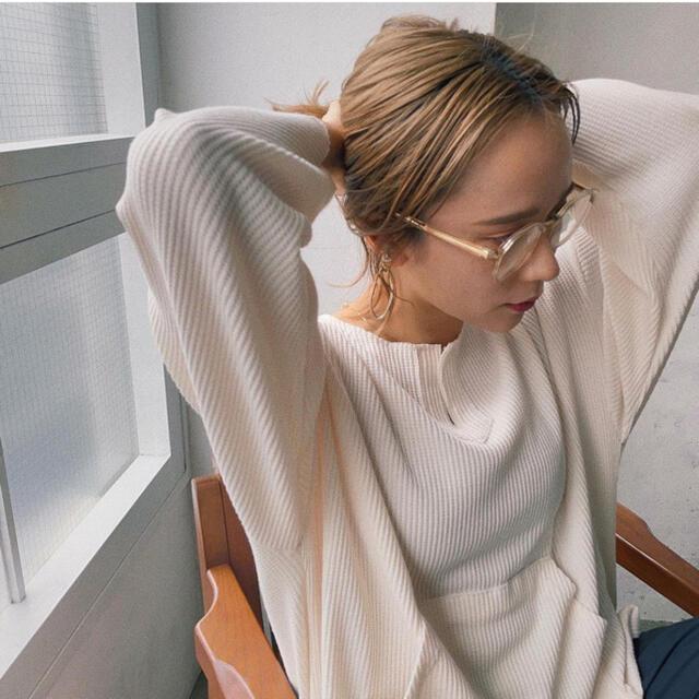 TODAYFUL(トゥデイフル)のLink 新品未使用 オメガメガネ 完売品❗️ レディースのファッション小物(サングラス/メガネ)の商品写真