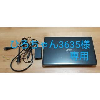 エイサー(Acer)のエイサー ノートパソコン(中古)(ノートPC)