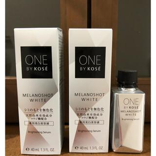 KOSE - ワンバイコーセー:メラノショット美白美容液3本セット