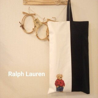ラルフローレン(Ralph Lauren)の220紐付きティッシュボックスケース ラルフローレン ポロベア(ティッシュボックス)