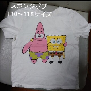 エイチアンドエム(H&M)のスポンジボブ パトリック Tシャツ 110~115サイズ (Tシャツ/カットソー)