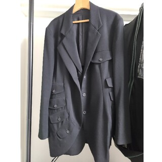 Yohji Yamamoto - ヨウジヤマモト 19ss look3 フラップジャケット