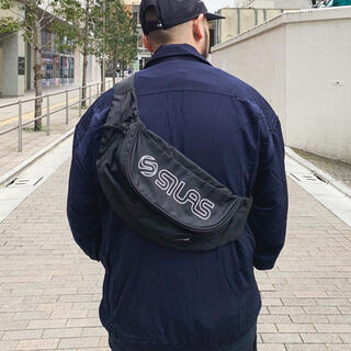 SILAS - SILAS  ボディバッグ サイラス TOP LOGO FANNY PACK