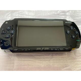 プレイステーションポータブル(PlayStation Portable)のPSPー1000 ブラック 本体 ジャンク品(携帯用ゲーム機本体)