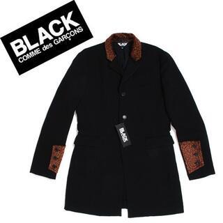 ブラックコムデギャルソン(BLACK COMME des GARCONS)の 新品 BLACK COMME des GARCONS チェスターコート(チェスターコート)