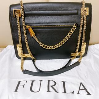Furla - Furlaフルラ Wチェーンショルダーバッグ(新品美品)