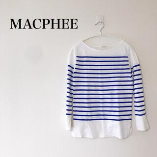 TOMORROWLAND - MACPHEE  マカフィー  ボーダートップス