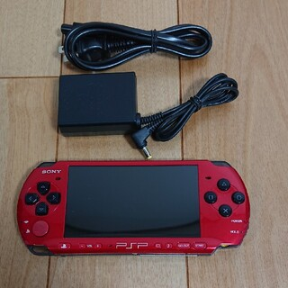プレイステーションポータブル(PlayStation Portable)のSONY   PSP3000   AC・2GBメモステ付(携帯用ゲーム機本体)