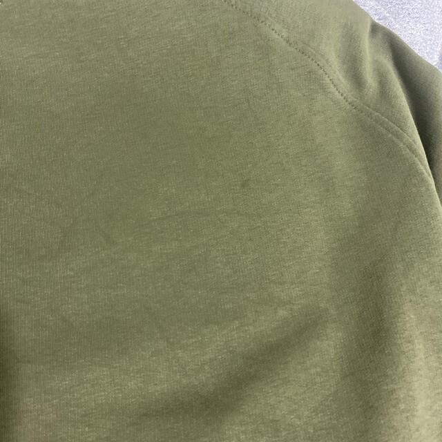 NIKE(ナイキ)の(本日限定価格 激レア90S)NIKE スウェット カーキ色 銀タグ メンズのトップス(スウェット)の商品写真