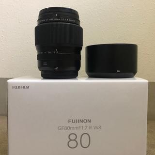 富士フイルム - GF80mm F1.7 富士フイルムGFX用レンズ 美品
