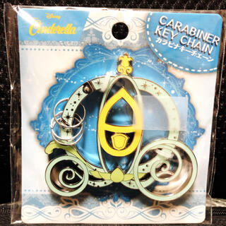Disney - カラビナ キーチェーン シンデレラ ディズニー キーリング キーホルダー
