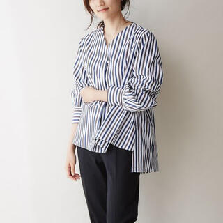 カリテ(qualite)の【qualite】ボリュームスリープシャツ(シャツ/ブラウス(長袖/七分))