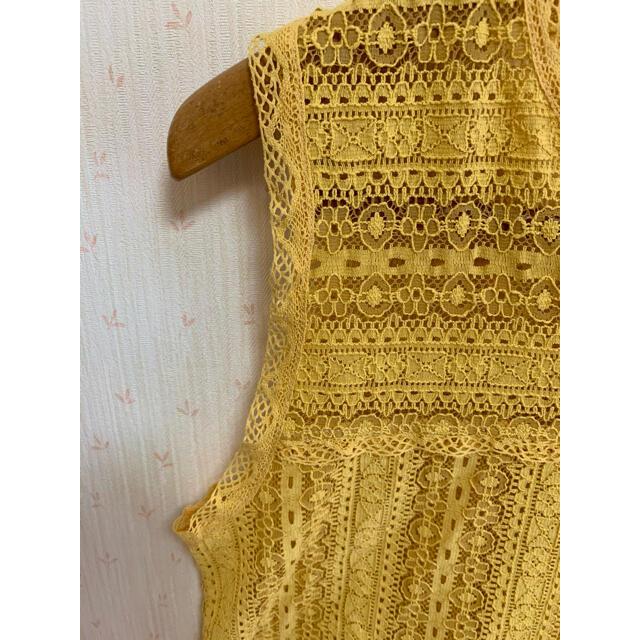 Ungrid(アングリッド)のungrid ノースリーブトップス レディースのトップス(カットソー(半袖/袖なし))の商品写真
