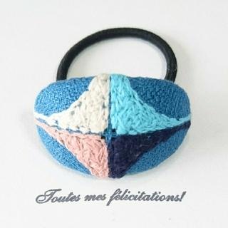 mina perhonen - pallo ブルー ヘアゴム ミナペルホネン mina perhonen