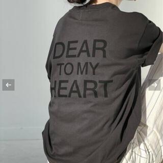 スピックアンドスパン(Spick and Span)のDEAR HEARTバックロゴT(Tシャツ(半袖/袖なし))