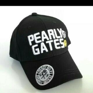 PEARLY GATES - パーリーゲイツ 帽子 キャップ タグなし 未使用