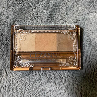CEZANNE(セザンヌ化粧品) - セザンヌ ノーズ&アイブロウパウダー 02ナチュラル
