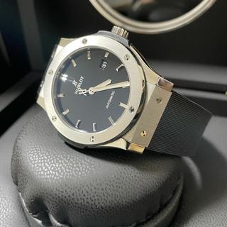 ウブロ(HUBLOT)の極美品★HUBLOT クラシックフュージョン 腕時計(腕時計(アナログ))
