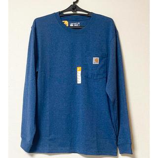 カーハート(carhartt)のCarhartt 長袖Tシャツ ポケット付き Sサイズ 大きめ(Tシャツ/カットソー(七分/長袖))