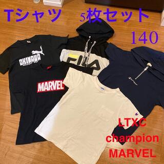 ラブトキシック(lovetoxic)の夏服5枚セット 140(Tシャツ/カットソー)