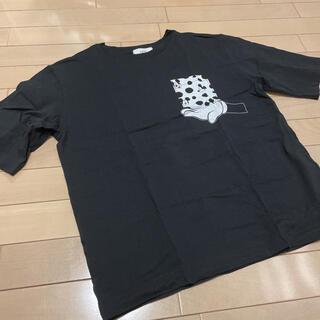 アズールバイマウジー(AZUL by moussy)のアズール AZUL Tシャツ ディズニー ミッキー(Tシャツ(半袖/袖なし))